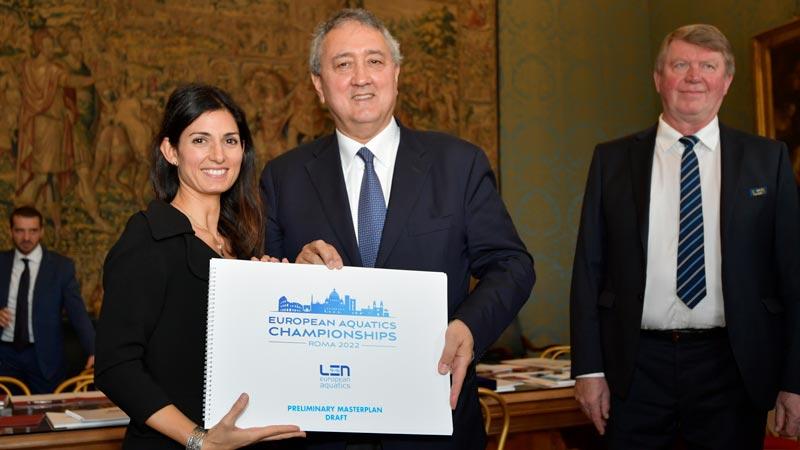 A ROMA I CAMPIONATI EUROPEI DI NUOTO 2022 6