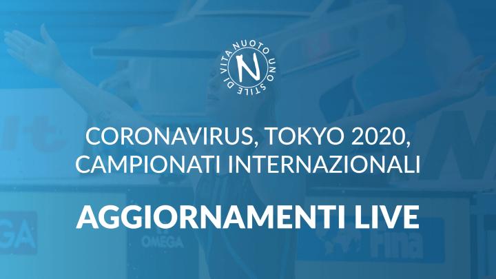 AGGIORNAMENTI LIVE: CORONAVIRUS, TOKYO 2020, NUOTO 5